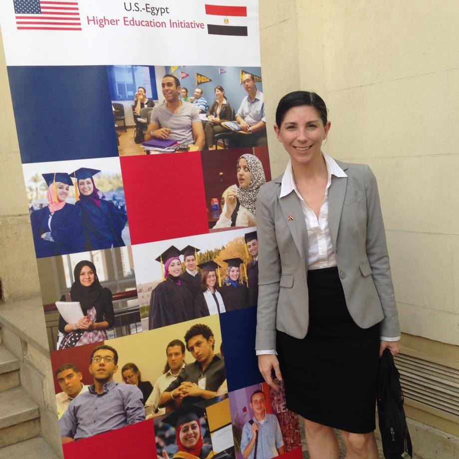Serving as the EducationUSA Advising Coordinator in Cairo, Egypt