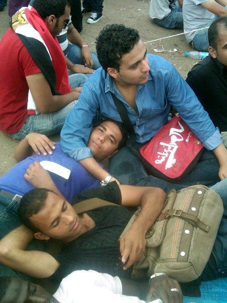 Men in Tahrir 2011