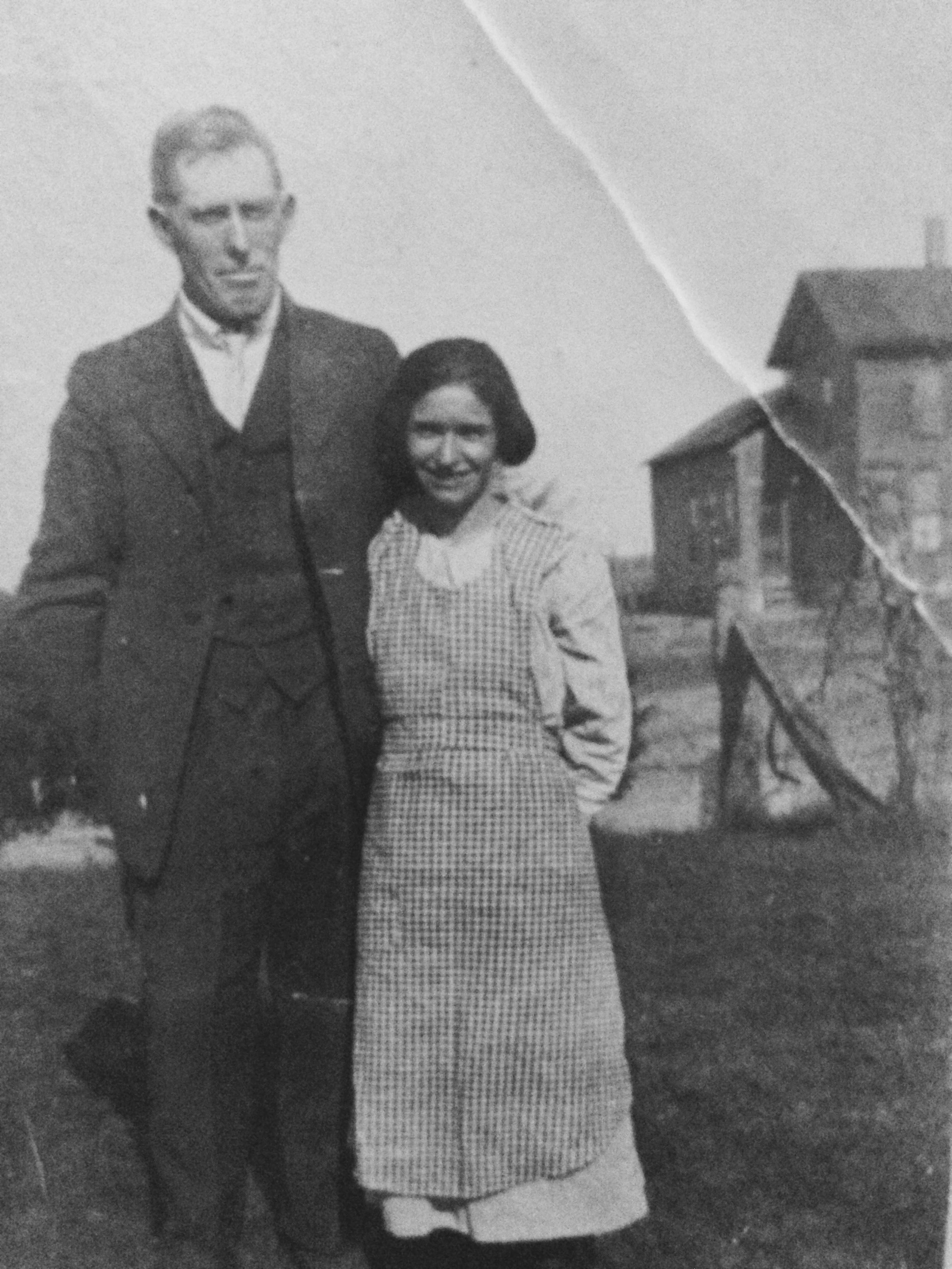 Bessie May Shuster Lent and John Lent